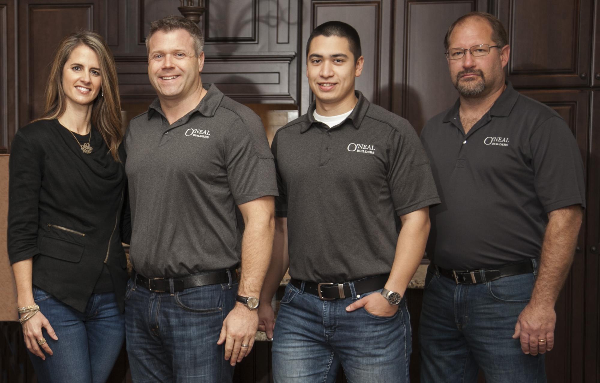 O'Neal Team Photo